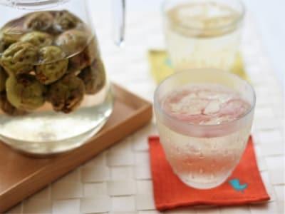 旬を楽しむ!梅シロップ
