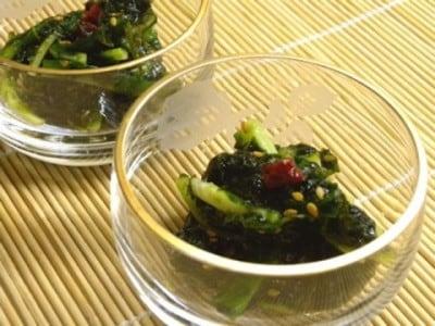 生青のりの和え物レシピ! ご飯のおともやパスタにおすすめ