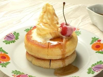 シロノワール風パンケーキの作り方…イングリッシュマフィンで作る!