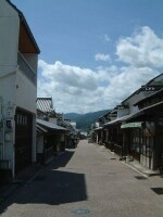 脇町の町並み(2)