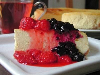 チーズケーキとベリーソース(2種)のレシピ・作り方!