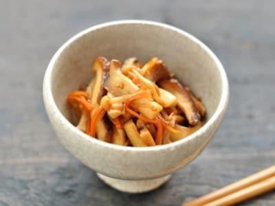 きのこの五目きんぴらレシピ……シンプル和食!
