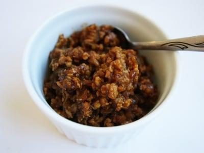 使いまわせる簡単常備菜。中華風肉味噌