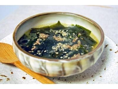 特別な日に食べる、韓国のわかめスープ