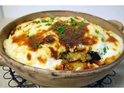 ギリシャ料理:ムサカ(野菜のラザニア)