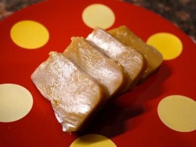 2つの材料で作る黒糖ういろうレシピ……簡単もちもち!