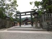 出雲大社(3)/銅鳥居と拝殿