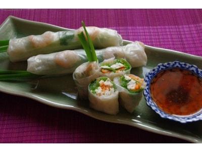 タイで人気のベトナム風生春巻きレシピ