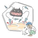 嘔吐下痢が伴うノロウィルスは感染力が強くこの季節は要注意です!