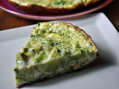 ブロッコリーのフリッタータ…前菜にも常備菜にもなるオムレツ