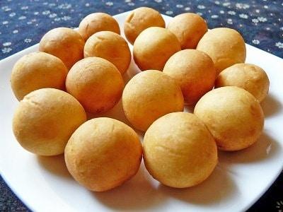 タピオカ粉とさつまいもの団子のレシピ! タイのモチモチスイーツ