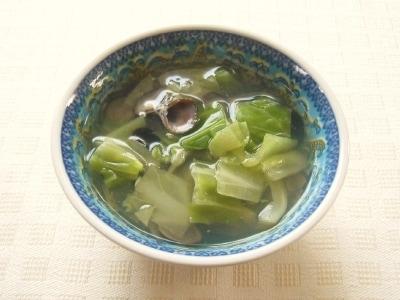 しじみと春キャベツのスープ