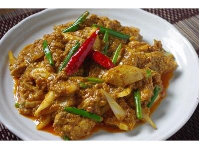 ガイパッポンカリーの作り方!白いご飯にもよく合うタイ料理レシピ