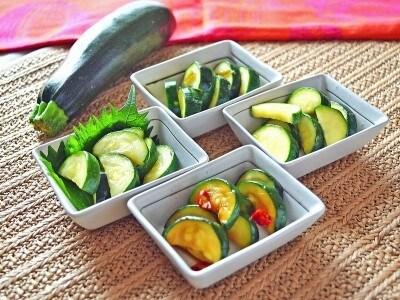 ズッキーニの漬物の作り方!おすすめの簡単レシピとアレンジ4種