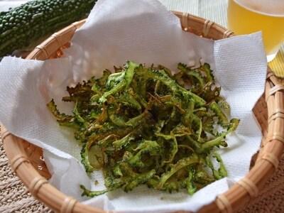 夏野菜おつまみ ゴーヤチップス