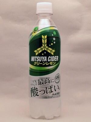 アサヒ飲料三ツ矢サイダーグリーンレモン