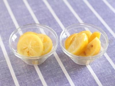 材料2つで万能調味料 塩レモン