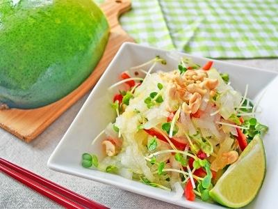 冬瓜レシピ!生で味わうエスニックサラダの作り方