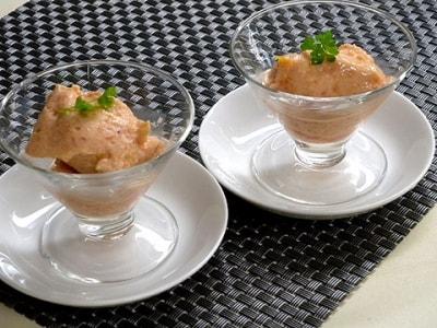フルーツアイスクリーム