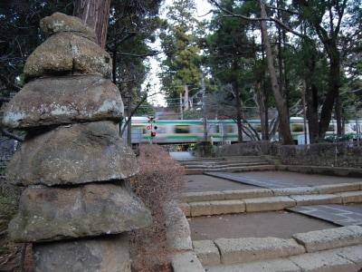 円覚寺参道と五山塔