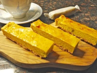 スイートポテトケーキの焼いて切るだけ簡単レシピ