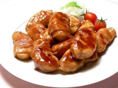 りんごの肉巻き照り焼きの作り方!甘酸っぱさがたまらない肉料理レシピ