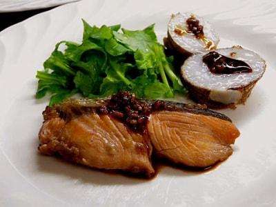 鮭の醤油麹漬け