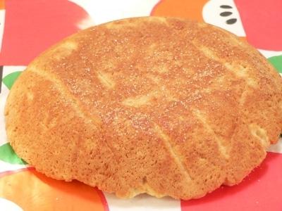 炊飯器で焼く、HM+豆腐のメロンパンの皮