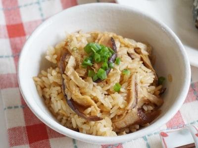 干し椎茸の炊き込みご飯の作り方!炊飯器で作る簡単レシピ