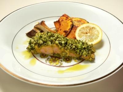 フレンチシェフ直伝、鮭のブロッコリー蒸しレシピ