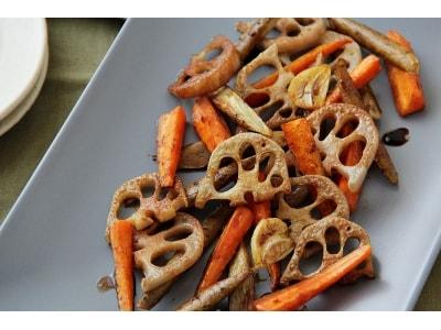 根菜のレシピ…おもてなしにも!冬の根菜グリル
