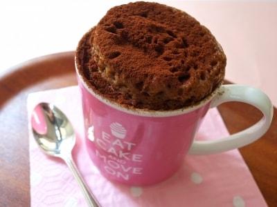 5分でできる、マグカップチョコレートケーキ