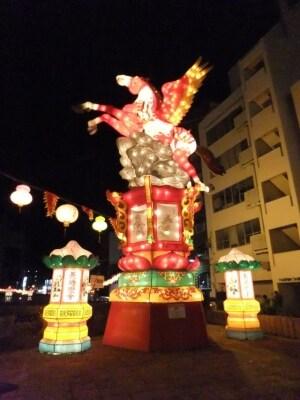 長崎ランタンフェスティバル/中島川会場/干支のオブジェ