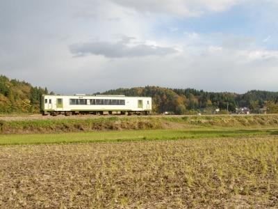 1両で走る飯山線の列車
