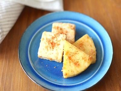 日本酒に合う 2種のチーズの味噌漬け