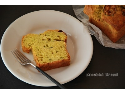 朝食やおやつに!チーズ入りのズッキーニブレッド