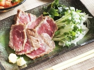簡単&豪華な冷製料理 牛たたき