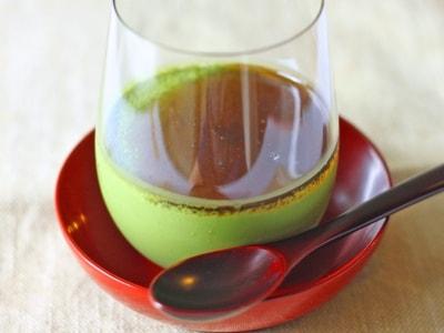 抹茶ムースを絹ごし豆腐で作る!簡単スイーツレシピ