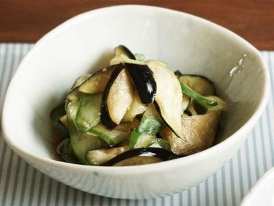 なすときゅうりの酢の物の作り方!野菜をシンプルに食べる簡単レシピ