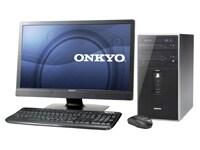 オンキヨーのパソコンは、一部マシンのディスプレイにはオンキヨーステレオスピーカーを搭載するなど、音へのこだわりが特徴だ