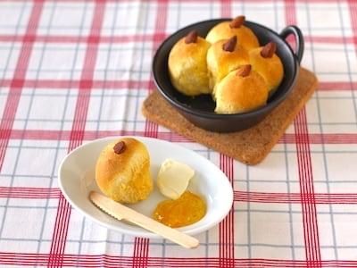 発酵不要イーストいらずでかんたん!ちぎりパン