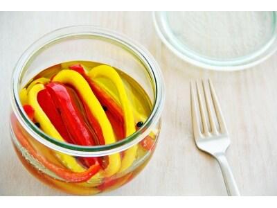 パプリカのオリーブオイル漬けの作り方!作り置きOKな簡単レシピ