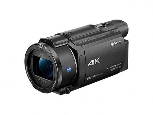 ソニーの4Kビデオカメラ「FDR-AX55」(市場価格:約10万円)