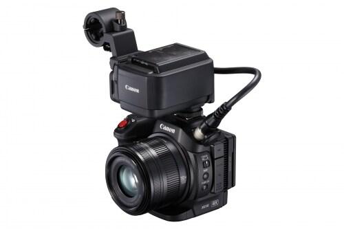 キヤノン4Kビデオカメラ「XC15」(市場価格:約27万円)
