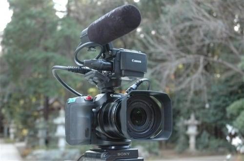 キヤノン4Kビデオカメラ「XC15」