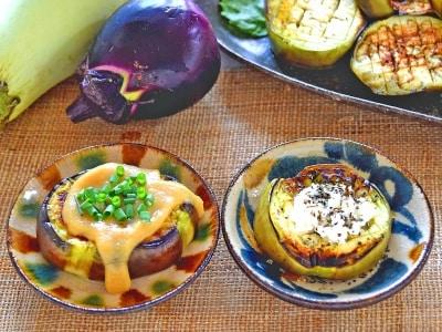 茄子ステーキ味噌とチーズで味付け簡単レシピ