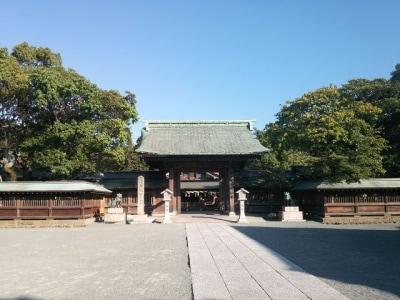 宗像大社・辺津宮(3)/神門