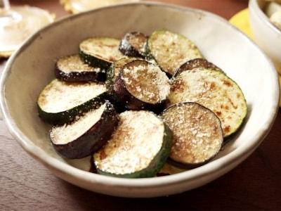 バルサミコ酢香る ナスとズッキーニの焼サラダ