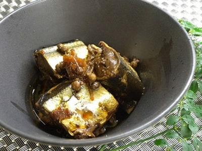 ピリッと山椒の風味がおすすめ さんまの花山椒煮