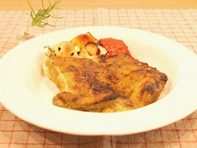 お店の味を再現 タンドリーチキンとロースト野菜